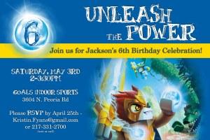 J's 6th Bday Invite